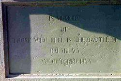 British Light Brigade Monument