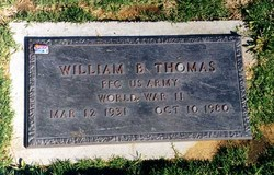 William Buckwheat Thomas
