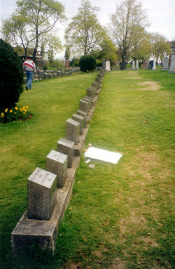 RMS Titanic Victims Mass Burial Site