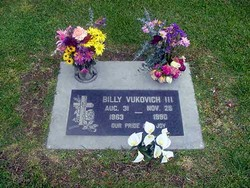 Billy Vukovich, III