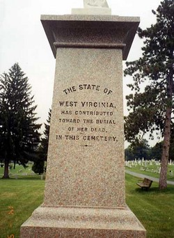 Washington Confederate Cemetery Monument