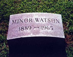 Minor Watson