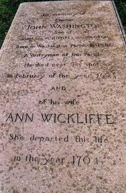 Ann <i>Wickliffe</i> Washington