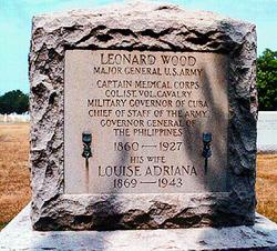 Gen Leonard Wood