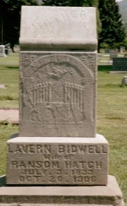 Lavern <i>Bidwell</i> Hatch