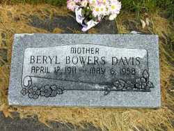 Beryl <i>Bowers</i> Davis