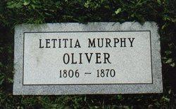 Letitia <i>Murphy</i> Oliver