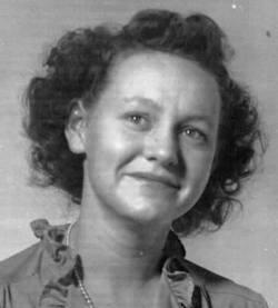 Mary Frances <i>Petersen</i> Carroll