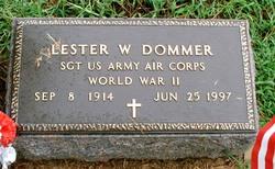 Lester W Dommer