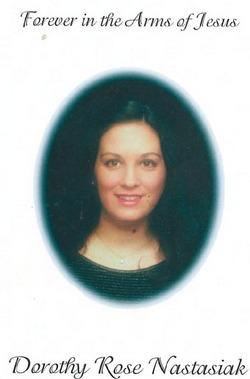 Dorothy Rose <i>Spevak</i> Nastasiak