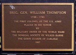 Gen William Thompson