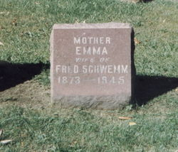 Emma <i>Rethmeier</i> Schwemm