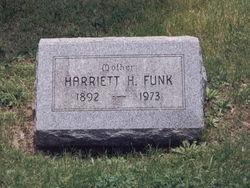 Harriet H <i>Friedland</i> Funk
