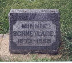 Minnie <i>Schwemm</i> Schnetlage