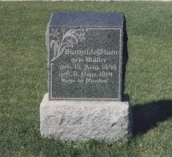 Mathilda Johanne <i>Mueller</i> Blum