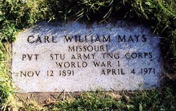 Carl William Mays