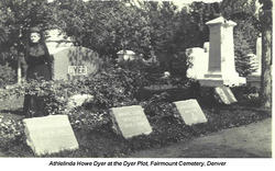 Athelinda Chesterfield Attie C. <i>Howe</i> Dyer