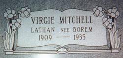 Virgie Mae <i>Borem</i> Mitchell