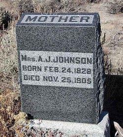 Mrs A. J. Johnson