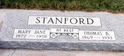 Mary Jane <i>Hiatt</i> Stanford