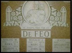 Ronald Joseph DeFeo, Sr