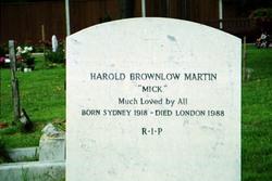 Harold Brownlow Mick Martin