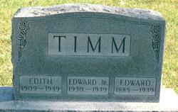 Edward Timm, Sr