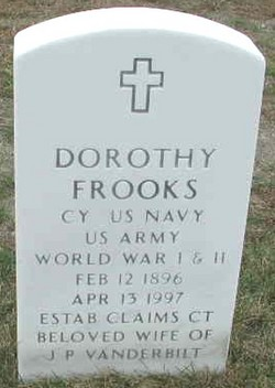 Dorothy Frooks