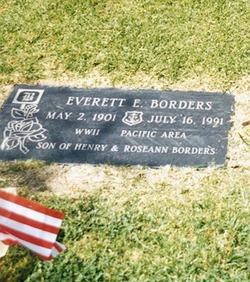 Everett Edcel Borders