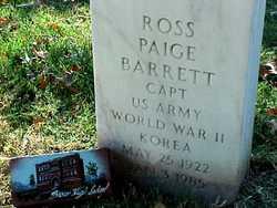 Ross Paige Barrett
