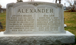 Joshua Willis Alexander