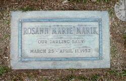 Rosann Marie Marik