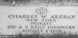 Pvt Charles W. Akerly