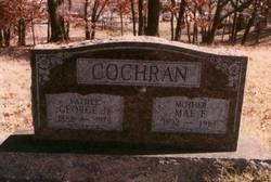 Mary Frances Mae <i>Cummins</i> Cochran