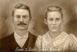 Sarah Elizabeth <i>Gibbs</i> Bowen