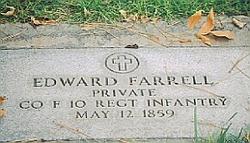 Pvt Edward Farrell