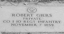 Pvt Robert Giers