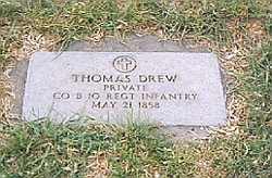 Pvt Thomas Drew