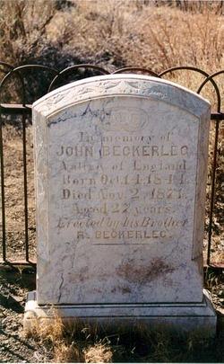 John Beckerleg