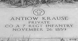Pvt Antiow Krause