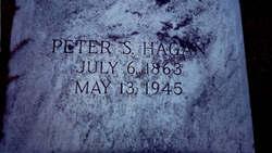 Peter Sheffield Pomp Hagan