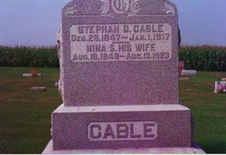 Stephan D Cable