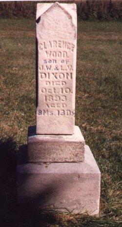 Clarence Wood (infant) Dixon