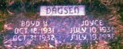 Boyd V Dagsen