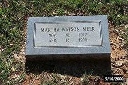 Martha Watson Meek