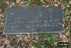 Bess Thurman Bessie Braniff