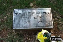 Mary Janet <i>Morgan</i> Meek