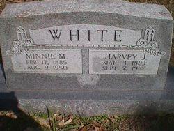 Minnie May C. <i>Brewer</i> White