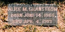 Mrs Alice Manetta Ellen <i>Gray</i> Granstrom
