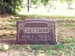 Elsie Adeline <i>Rayl</i> Cheesman